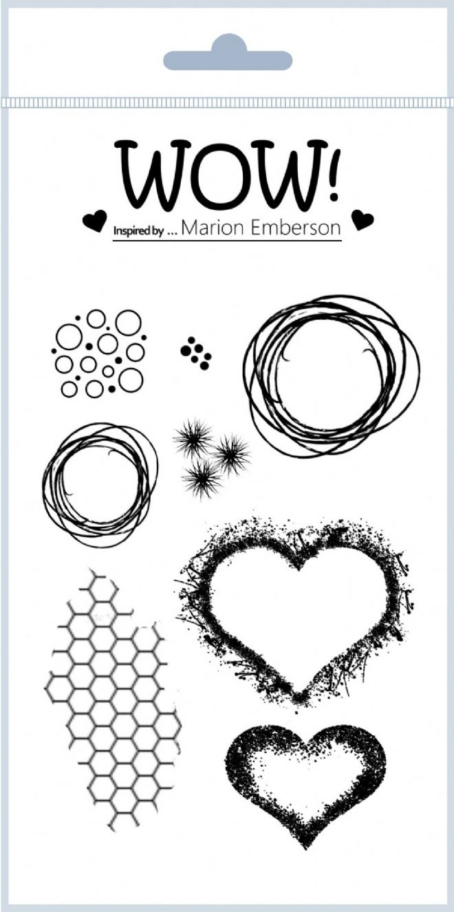 Hearts & Twine (by Marion Emberson) - Clear Stamp Set